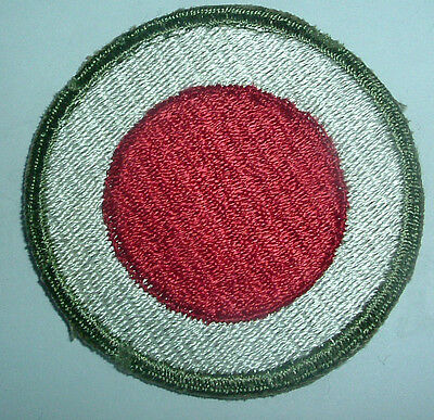 AMERICAN PATCHES-ORIGINAL WW2 37th INFANTRY DIVISION OD BORDER GREEN BACK