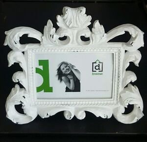 Fancy ornate white timber Photo frame - baroque style GORGEOUS rrp $49.95