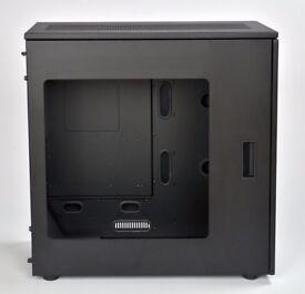 Caselabs Merlin SM8 - Black (with all accessories, PSU bracket, XL window)