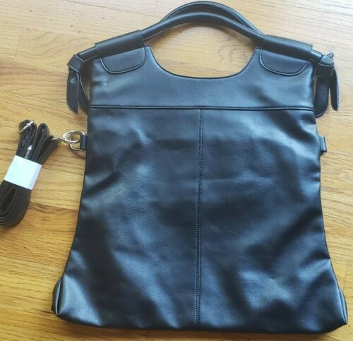 Women Large Retro Handbag Leather Shoulder Bag Hobo Purse Me