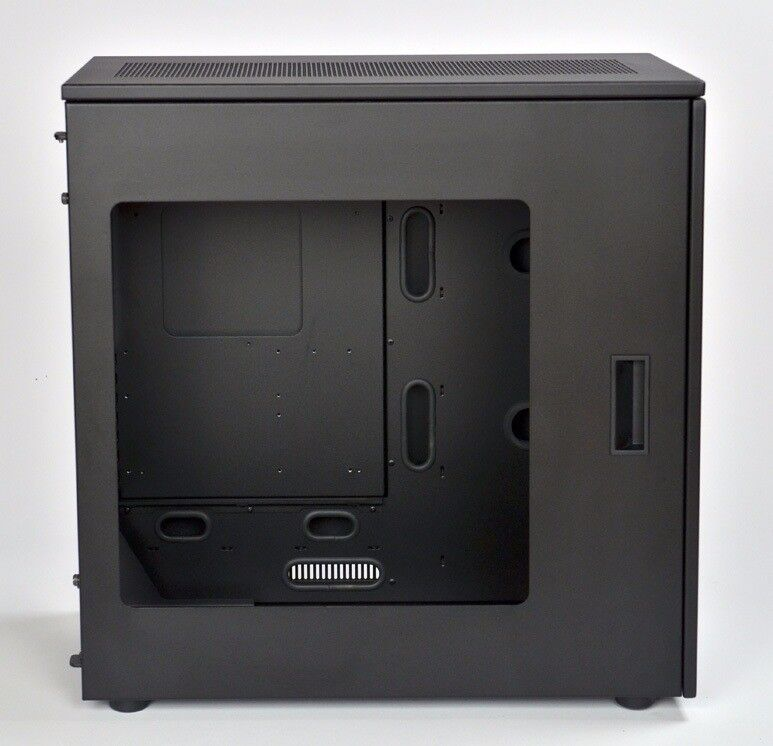 Caselabs Merlin SM8 - Black (with all accessories, PSU bracket, XL window) - PC Case / Rig