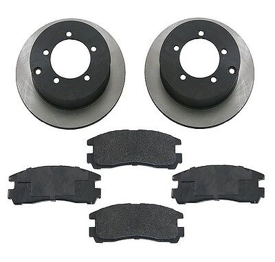 Mitsubishi Eclipse 00-05 V6 3.0l Rear Brake Kit W/ Semi Metallic Pads & Rotors on sale