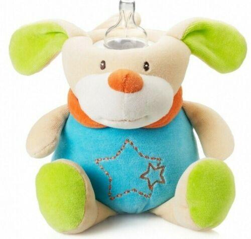 MilkySnugz Baby Feeding Bottle Cover Holder Soft Dog