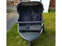 Baby Weaver double buggy