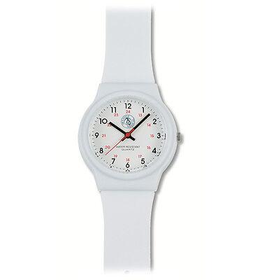 Prestige Medical Scrub Watch Style 1770 White Nurse Student