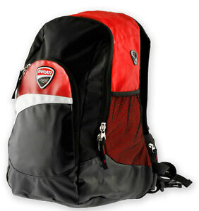 ducati corse sac dos original noir rouge neuf 12 back camel bag porte ebay. Black Bedroom Furniture Sets. Home Design Ideas