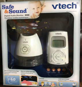 VTech Safe & Sound Digital Audio Monitor with Glow - Brand New