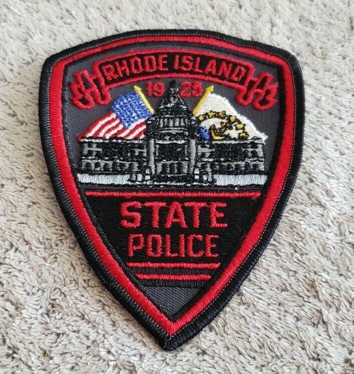 Rhode Island State Police Shoulder Patch OS