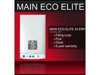 Main Eco Elite Gas combi boiler flue clock loop