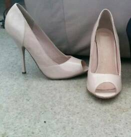 Asos nude patent and suede size 7