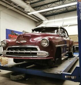 1952 Chevy styleline deluxe Project car