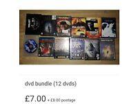 Dvd bundle 1 (12 dvds)