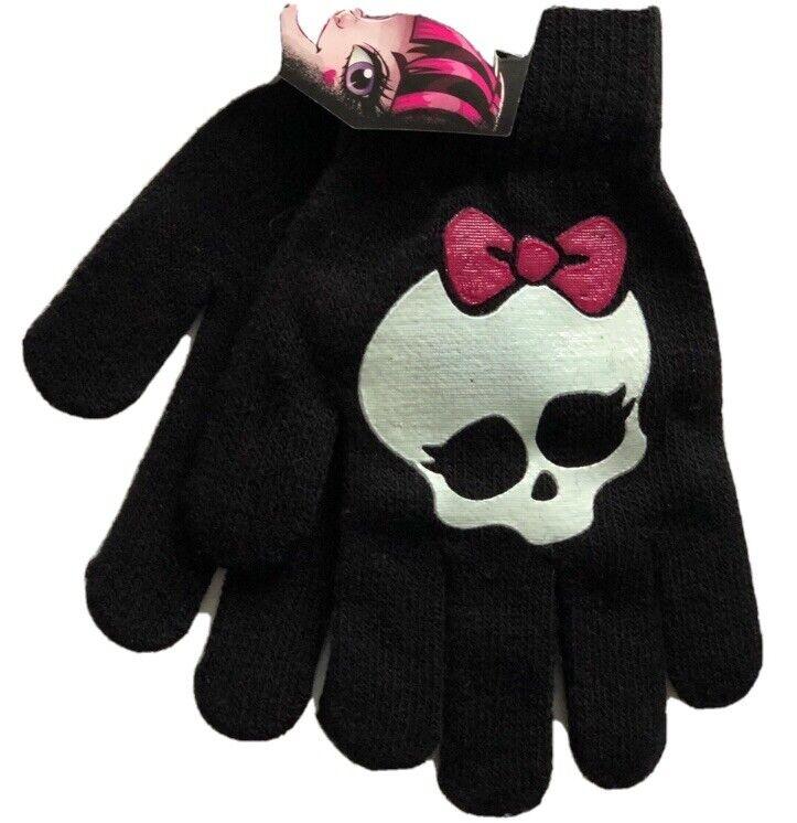 Monster High Winter Gloves Girls NWT!