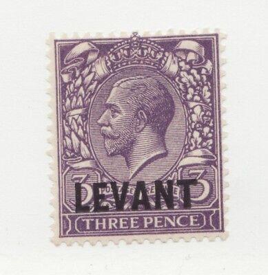 BRITISH LEVANT Scott #49 * MH Three Pence postage stamp