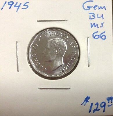 Click now to see the BUY IT NOW Price! 1945 5C CANADA 5 CENTS