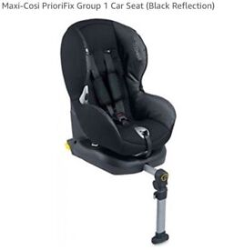 Used Maxi Cosi PrioriFix Group Black