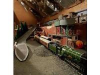 Flying Scotsmen train oo model