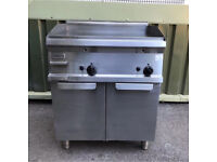 Commercial Catering equipment zanussi gas griddle