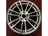 BMW 3 SERIES 19 INCH 403 SINGLE FRONT ALLOY USED.