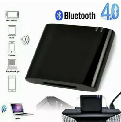 30 Pin Bluetooth Wireless Adapter Converter for Bose SoundDeck iPhone iPod Music