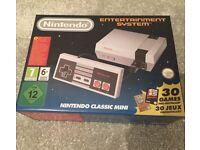 Nintendo entertainment system NES MINI 30 Games controller classic original brand new