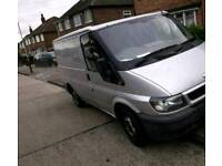 54 reg Ford transit side loading door long mot and tax