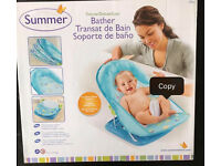 Summer baby bather / bath chair