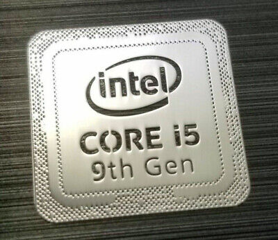 Intel Core i7 vPro Inside Sticker 18 x 18mm 6th Generation Skylake Case Badge