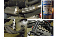 JOBLOT VARIOUS EXHAUSTS / PIPES USED & NEW