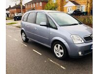 VAUXHALL MERIVA AUTOMATIC 2005 1.6 PETROL HPI CLEAR not a can zafira c4 or Touran