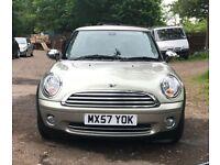 Mini cooper for sale, MOT, key less start, drives well.