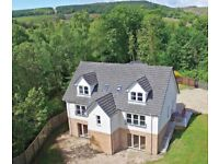 Immaculate 6 bedroom home for sale - Rosneath / Helensburgh New Build (Near Faslane)