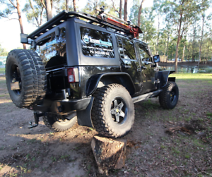 Custom Lifted 2012 Wrangler lifted winch bar ultimate tourer
