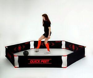 Quick-Feet-Trainer | Das neuartige Bandensystem für das Fußballtraining