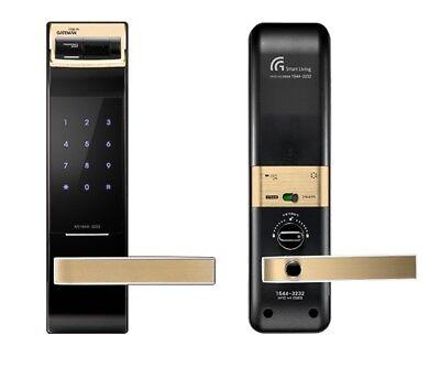Gateman F300-FH Fingerprint Pin Door Lock Keyless doorlock w/ Integral Handle