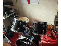 Dragon drum kit (black)