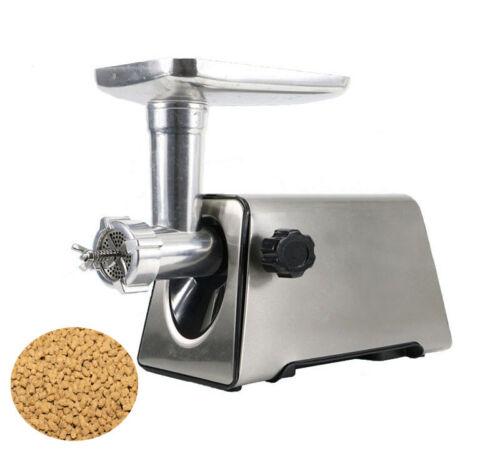 220V 5mm Electric Animal Feed Food Pellet Machine Stainless Steel Pet Food Maker