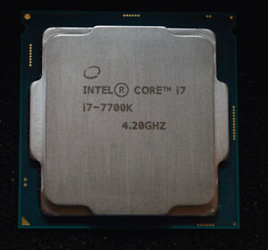 New Intel i7 7700K LGA 1151 CPU warranty (also have delidded one