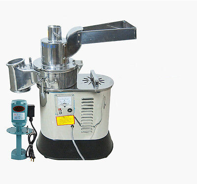 Automatic Continuous Feeding Herb Grinder Herb Mill Pulverizer 40kgh Df-40s