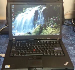 Thinkpad T400 Off-Lease Laptop - FREE Bag Or Mouse!