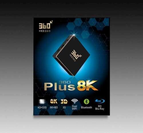 HKE360 360Plus Gen5 五代 8K盒子 32GB TV版  - 北美發貨