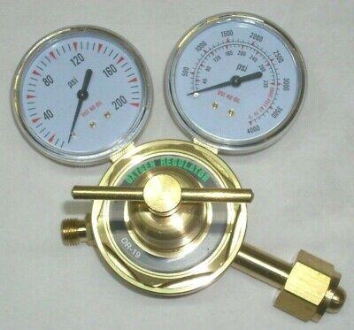 Oxygen Cutting Torch Regulator Or-19 Cga 540 Inlet Brass Body 2 12 Gauges