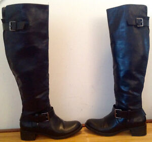 Alfred Sung black knee high boots Kingston Kingston Area image 1
