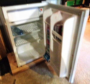 Vintage Bar Fridge for Coca Cola Makeover Working Condition