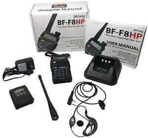 Baofeng 8 watt hand held radios with channels  Prince George British Columbia image 1