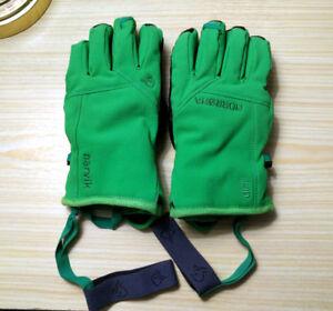 Ski, Snowboard Gloves - Norrona Narvik Dri1, Green, M - $50