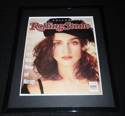 Madonna Framed March 23 1989 Rolling Stone Cover Display
