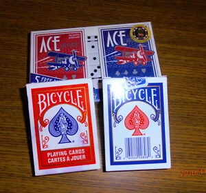 4 PKGS PLAYING CARDS