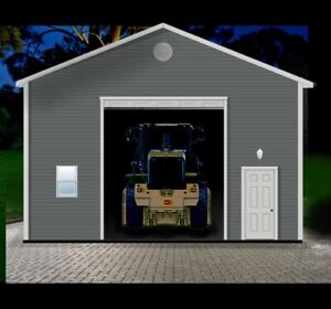 Heavy Equipment Garage Package s