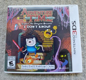 Adventure Time: Explore the Dungeon Because I Don't Know! - 3DS